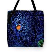 Van Gogh's Clam Tote Bag