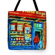 Van Horne Bagel Tote Bag