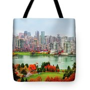 Vancouver After The Rain Tote Bag