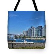 Vancouver Bench Tote Bag