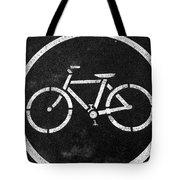 Vancouver Bike Lane- Art By Linda Woods Tote Bag