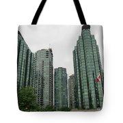 Vancouver City Canada Tote Bag