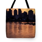 Vancouver From Stanley Park I Tote Bag