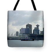 Vancouver Harbour Tote Bag