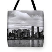 Vancouver In Black And White. Tote Bag