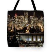 Vancouver Lights Tote Bag