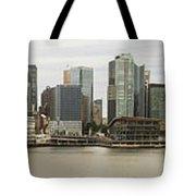 Vancouver Skyline Tote Bag