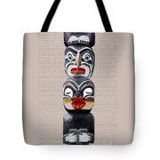 Vancouver Totem - 1 Tote Bag