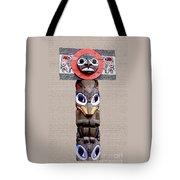 Vancouver Totem - 3 Tote Bag by Linda  Parker