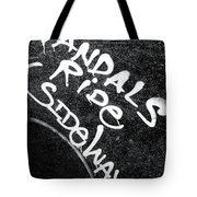Vandals Ride Sideways Tote Bag