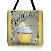 Vanilla Lemon Cupcake Tote Bag by Catherine Holman