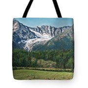 Vanishing Glacier Tote Bag
