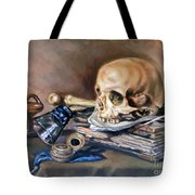 Vanitas After Pieter Claesz Tote Bag