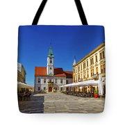 Varazdin Main Square, Croatia Tote Bag