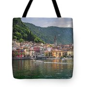 Varenna Italy Old Town Waterfront Tote Bag