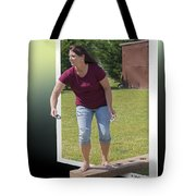 Variation On The Cornhole Game Tote Bag