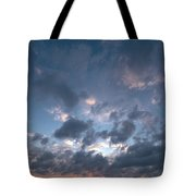 Variations Of Sunsets At Gulf Of Bothnia 5 Tote Bag