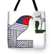 various demons of ancient Egypt Tote Bag