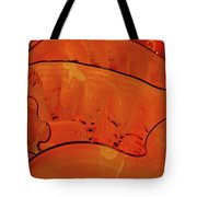 Various Orange Swirls Brown Accents Shiny 2 9132017  Tote Bag