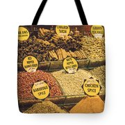 Various Spices Tote Bag