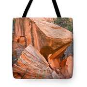 Varnished Boulders Tote Bag