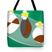 Vase And Flowers Tote Bag