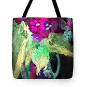 Vase Dancing In The Night Tote Bag