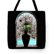 Vase In A Window Tote Bag