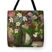 Vase Of Flowers #1 Tote Bag