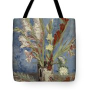 Vase With Gladioli And Chinese Asters Paris, August - September 1886 Vincent Van Gogh 1853  1890 Tote Bag