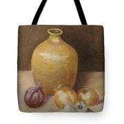 Vase With Onion Tote Bag