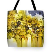 Vases Full Of Blooms    Tote Bag