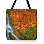 Vaseys Paradise Twin Falls Tote Bag