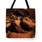 Vasquez Rocks And Stars Tote Bag