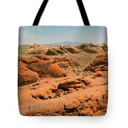 Vast Desert Valley Of Fire Tote Bag