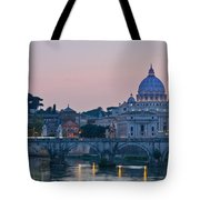 Vatican City At Sunset Tote Bag