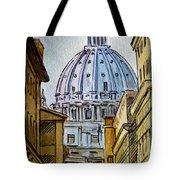 Vatican City Tote Bag by Irina Sztukowski