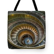 Vatican Staircase Tote Bag