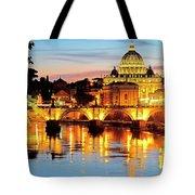 Vatican's St. Peter's Tote Bag