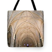 Vaulted Ceiling And Arches Tote Bag