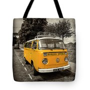 Vdub In Orange  Tote Bag