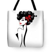 Vector Girl 2 Tote Bag