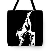Vector - Yuri Bunny Black Tote Bag
