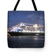 Veendam In Bermuda Tote Bag