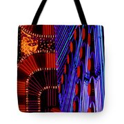 Vegas Lights Tote Bag