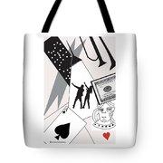 Vegas Night Tote Bag