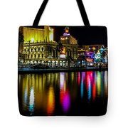 Vegas Reflections Tote Bag