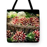 Vegetable At Market In Paris  Tote Bag