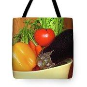 Vegetable Bowl Tote Bag