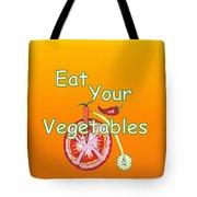 Vegetable Kitchen Decor Tote Bag
